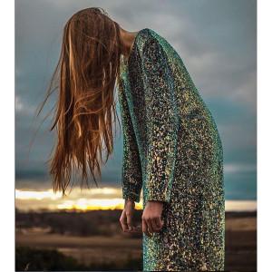 MArit Illison sequin dress