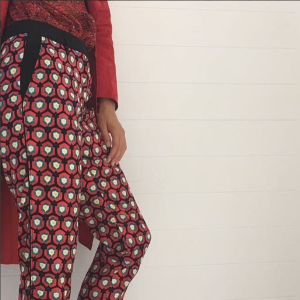 Raquel Diniz top - Dauphine D. pants